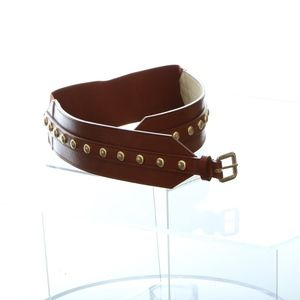 INC Womens Belt Large, XL Studded Non Leather